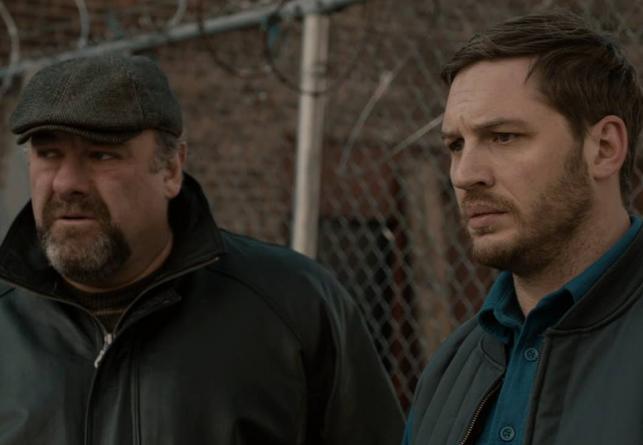"""Tom Hardy i James Gandolfini w filmie """"Brudny szmal"""""""