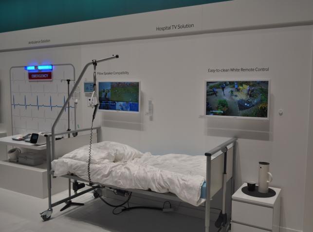 Szpitalny telewizor Samsunga