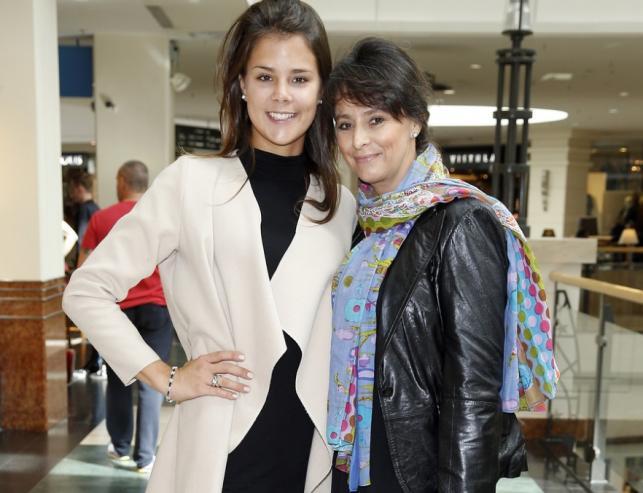 Anna Korcz z córką Katarzyną