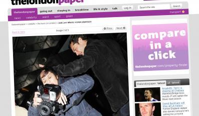 Jude Law uderzył kobietę