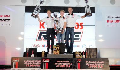 Podium Kia Lotos Race 2014