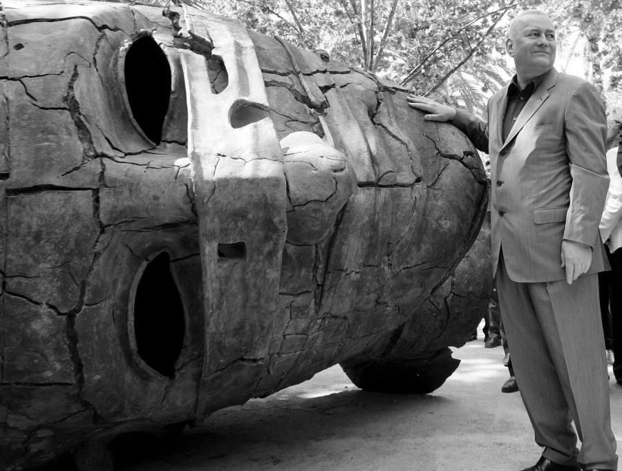 Rzeźbiarz Igor Mitoraj