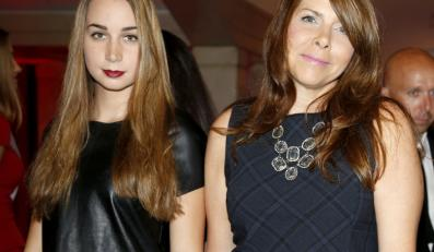Katarzyna Kolenda-Zaleska z córką Anną