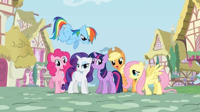 Kucyki Pony z małego na duży ekran