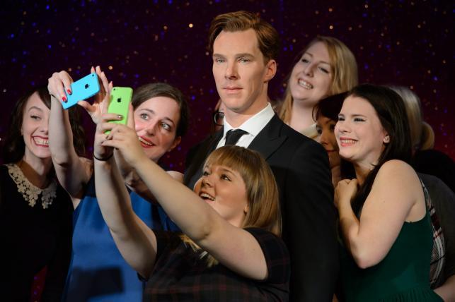 Benedict Cumberbatch wspaniały, chociaż z wosku