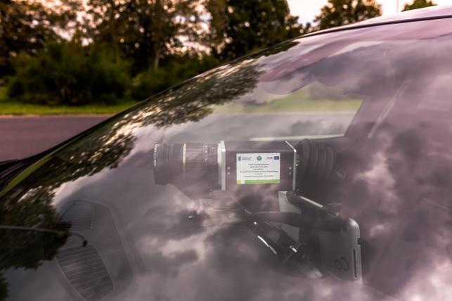 Nieoznakowany samochód ITD z fotoradarem
