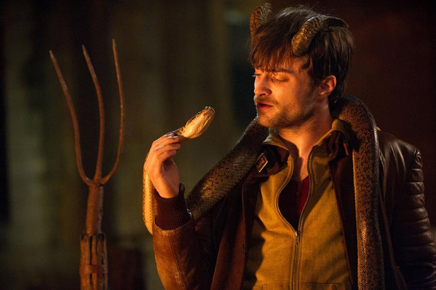 Daniel Radcliffe przytulił swoje mroczne \