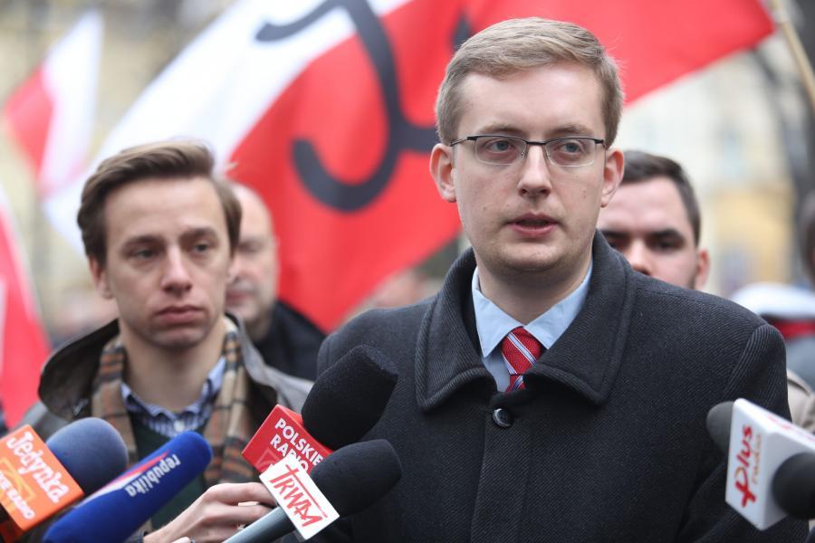 Krzysztof Bosak i Robert Winnicki, organizatorzy Marszu Niepodległości