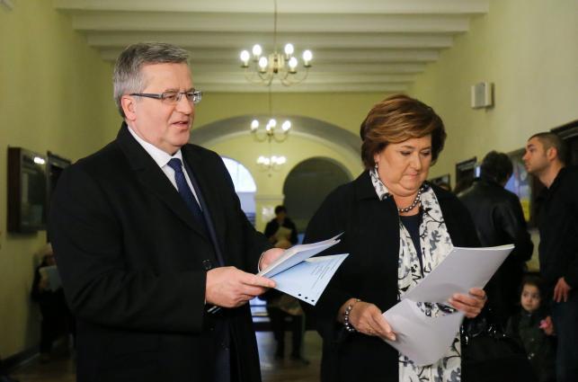 Bronisław i Anna Komorowscy