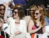 Anne Hathaway i Jessica Chastain na Hollywoodzkiej Alei Sław