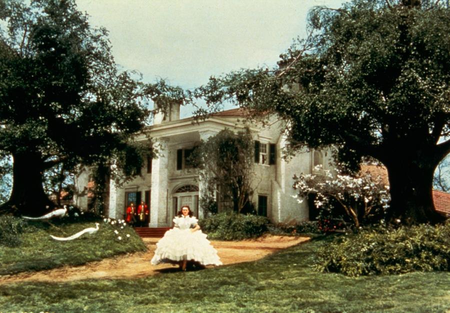 """Vivien Leigh w filmie """"Przeminęło z wiatrem"""""""