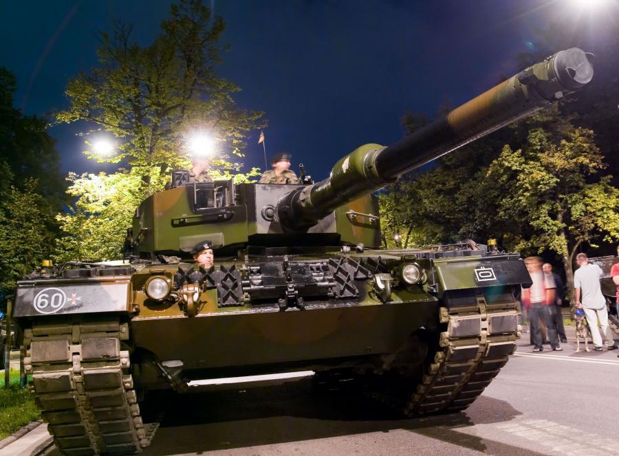 Polski czołg Leopard 2A4