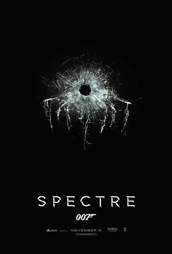 Plakat 24 filmu o Jamesie Bondzie - Spectre