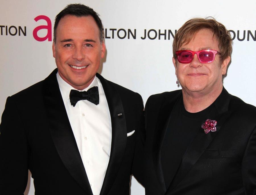 Elton John i David Furnish zaplanowali swój ślub