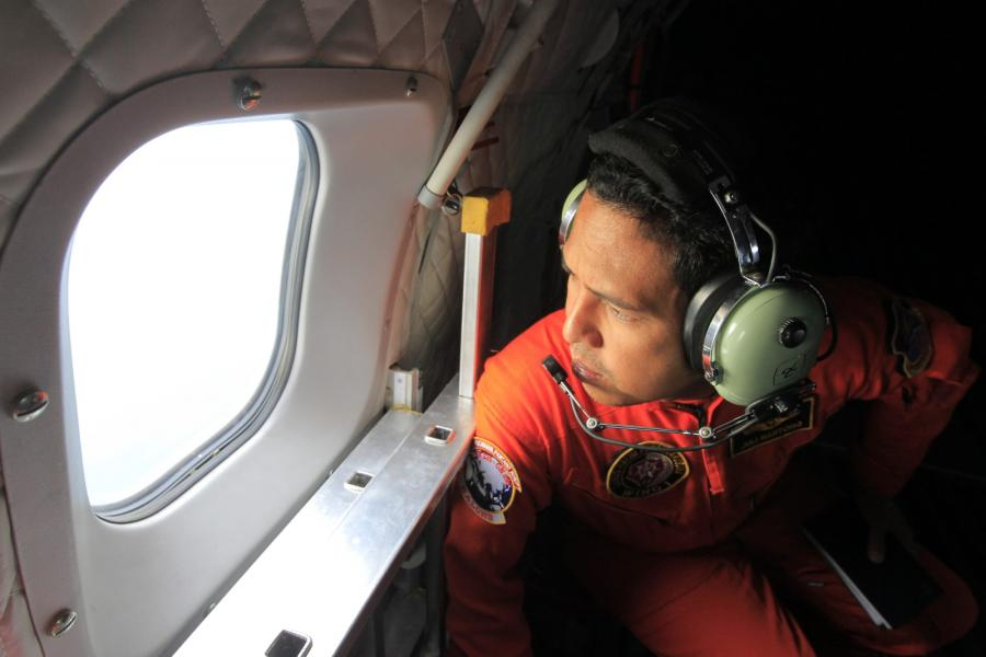 Poszukiwania zaginionego Airbusa A320