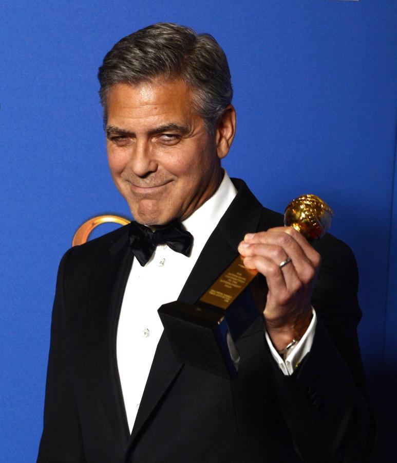 Honorową statuetkę – nagrodę imienia Cecila B. DeMille'a odebrał George Clooney