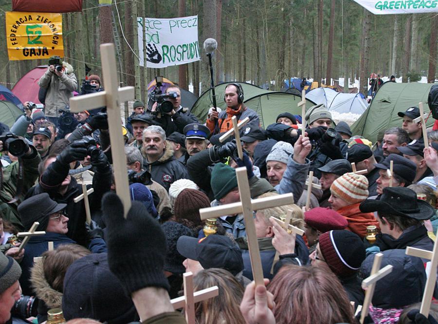 Zwolennicy budowy obwodnicy, ekolodzy i przedstawiciele rządu zaczną rozmowy w styczniu 2008 roku