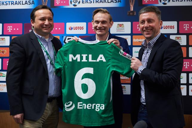 T-Mobile Ekastraklasa: Sebastian Mila piłkarzem Lechii Gdańsk