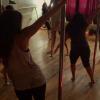 Lady GaGa tańczy na rurze