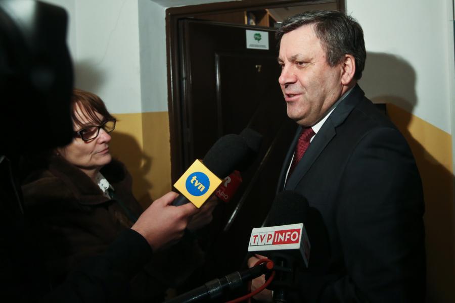 Lider PSL Janusz Piechociński