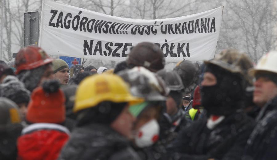 Wielki strajk w Jastrzębiu