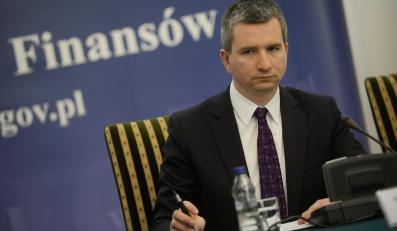 Minister finansów Mateusz Szczurek
