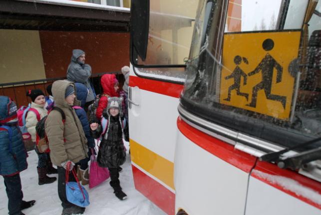 Dzieci z Donbasu idą do szkoły