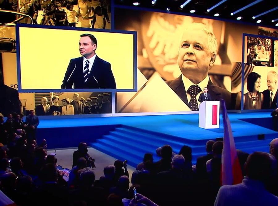 Andrzej Duda w spocie wyborczym PiS