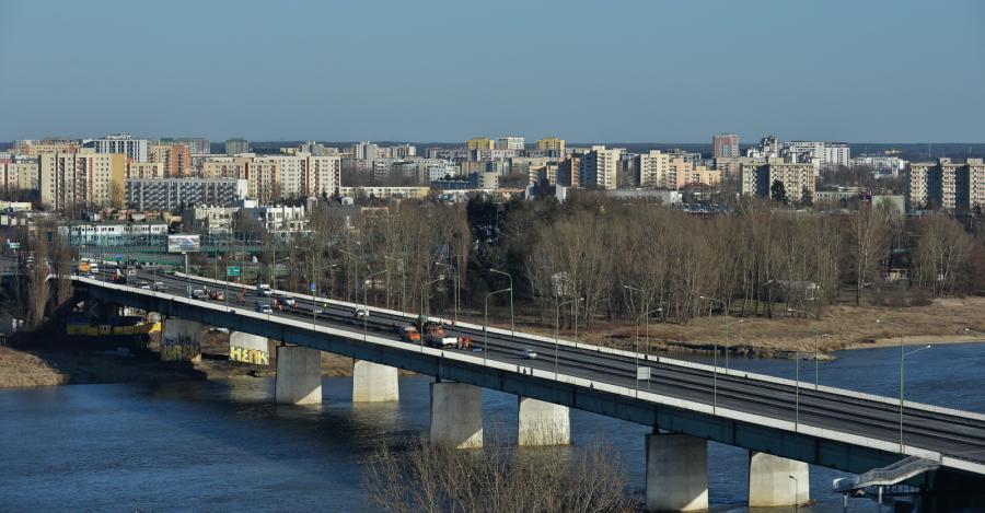 Prace na Moście Łazienkowskim