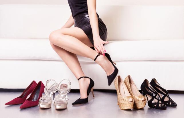 1. Kupuj obuwie po południu lub wieczorem