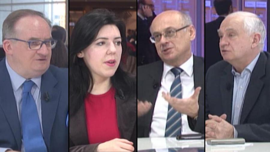 Jacek Saryusz-Wolski, Dominika Ćosić, Zdzisław Krasnodębski, Janusz Zemke