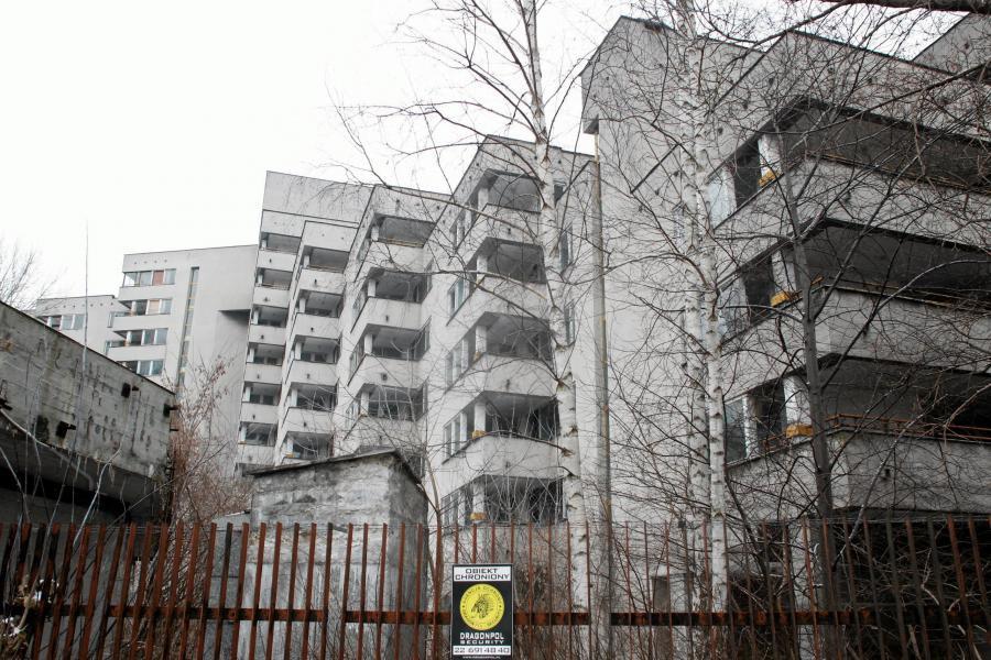 Budynek przy ul. Sobieskiego 100, zajmowany przez Federację Rosyjską