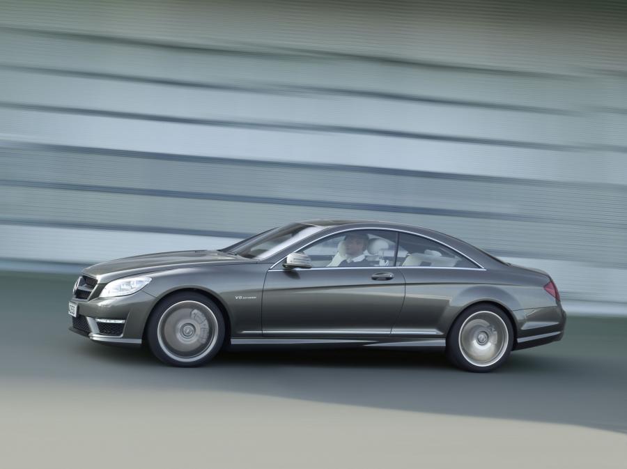 Mercedes CL - 5. miejsce wśród najbardziej awaryjnych używanych samochodów według Warranty Direct