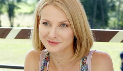 "Joanna Moro w serialu ""Blondynka"""