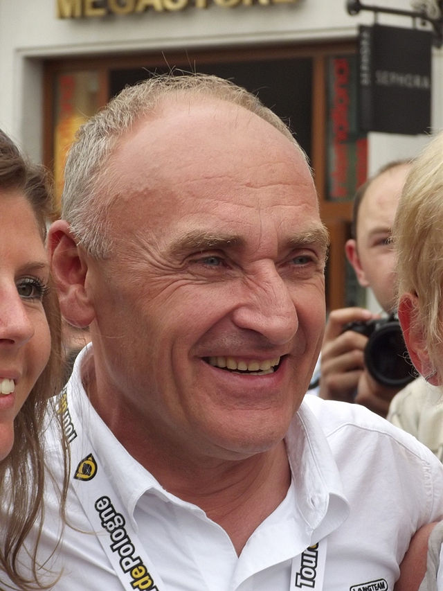 Czesław Lang podczas ostatniego etapu 68. Tour de Pologne w Krakowie