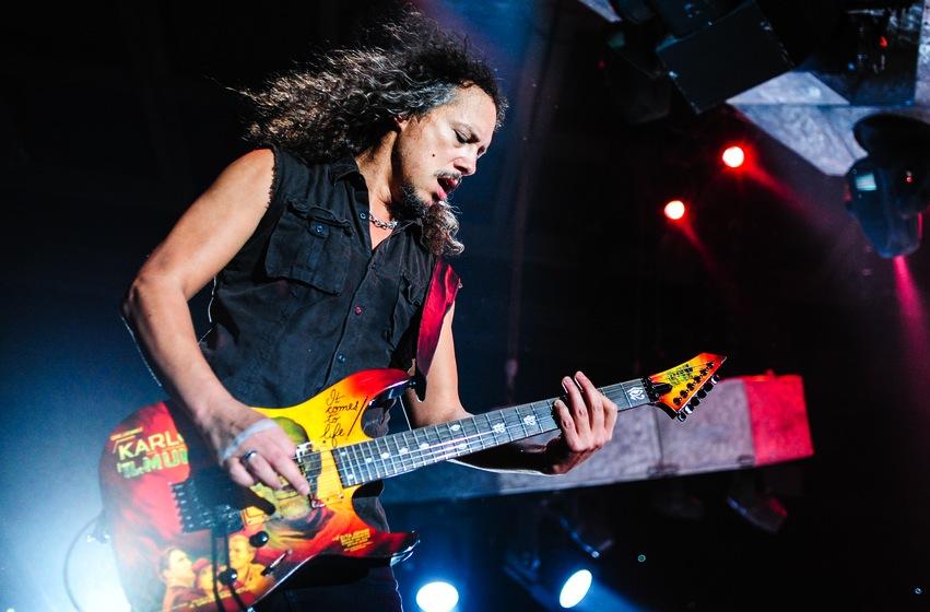 Kirk Hammett: Przepadło 250 moich pomysłów muzycznych