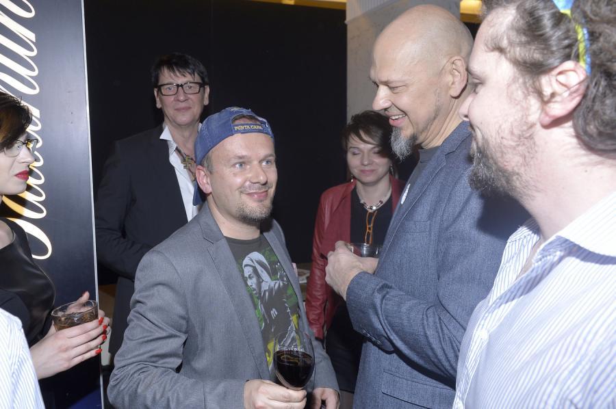 Maciej Maleńczuk, Krzysztof Kasa Kasowski i Olaf Deriglasoff na Fryderykach 2015