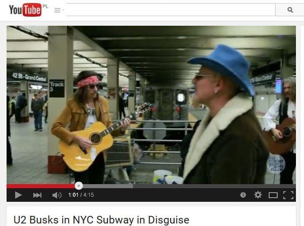U2 na stacji metra