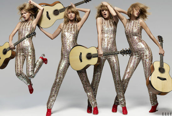 "Taylor Swift w magaznie ""Elle"""