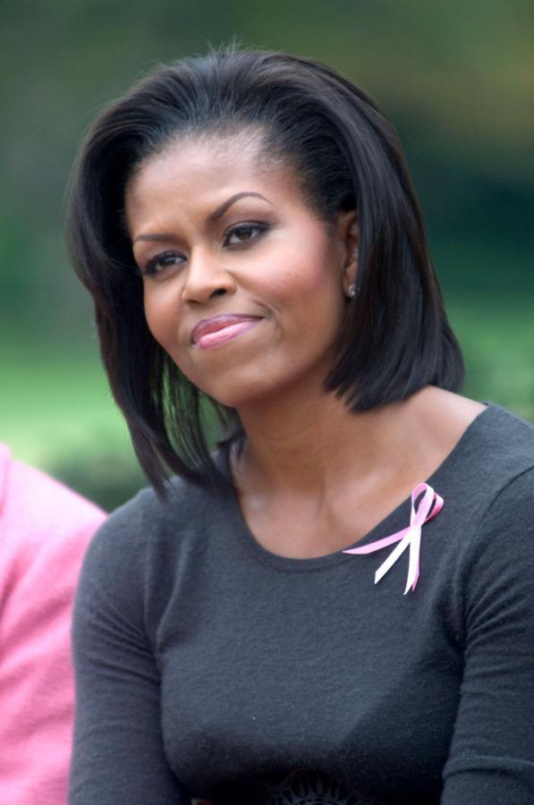 MICHELLE OBAMA, pierwsza dama USA