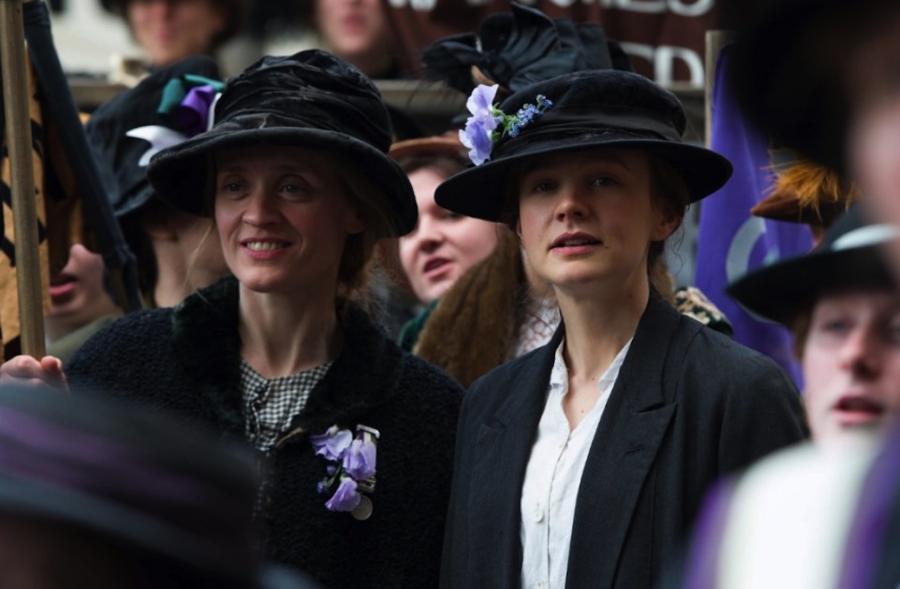 Wojujące sufrażystki Anne-Marie Duff i Carey Mulligan