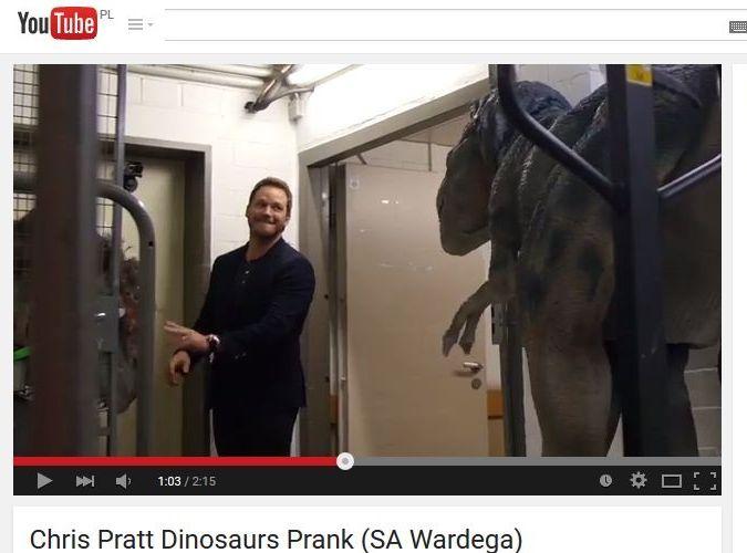 Chris Pratt Wkrecony Przez Wardege
