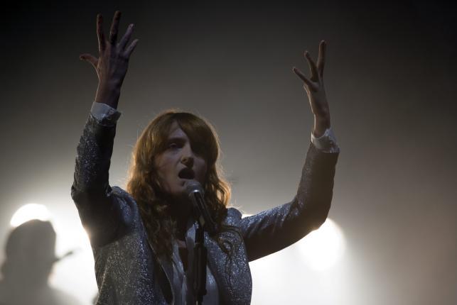 Florence Welch na Glastonbury 2015