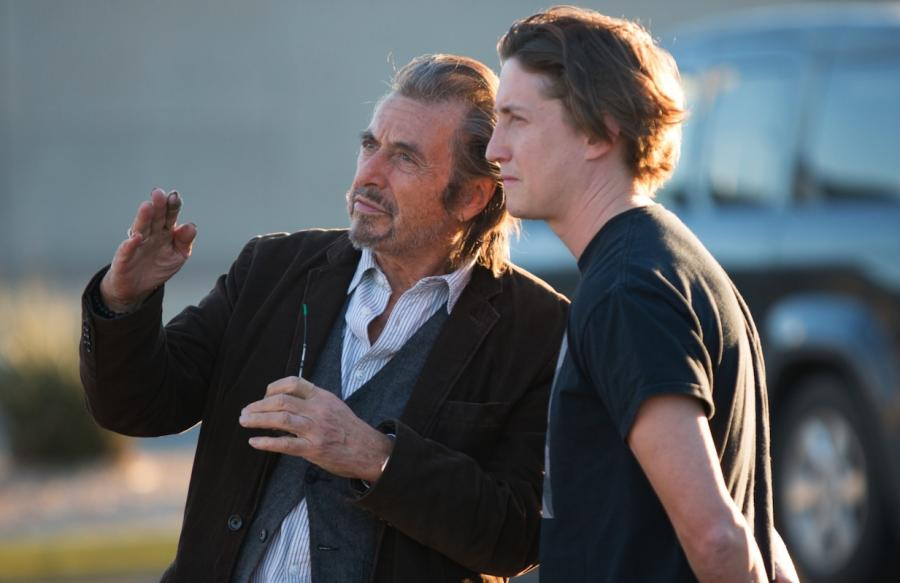 David Gordon Green i Al Pacino na planie