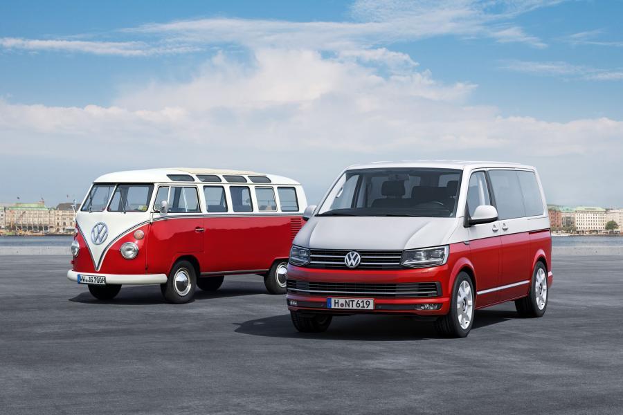 Volkswagen T1 (bulli) i transporter T6