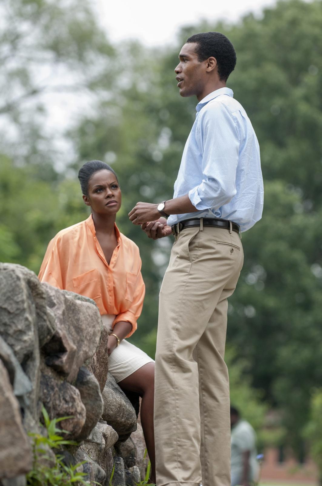 Pierwsza randka Baracka i Michelle Obamów na ekranie