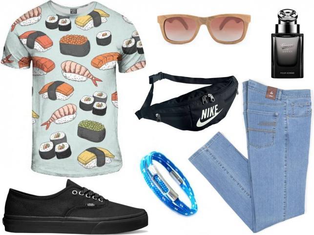 Męskie stylizacje na lato