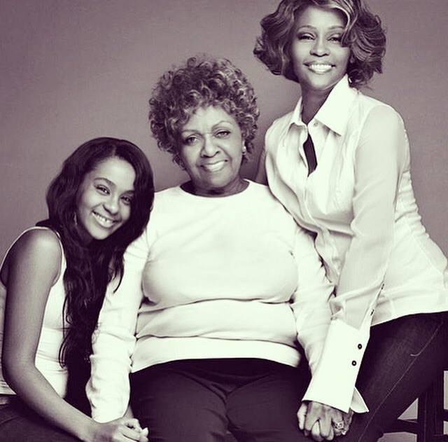 Bobbi Kristina Brown z mamą i babcią