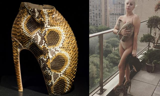 Lady Gaga w butach za milion złotych. Jak wam się podobają jej \