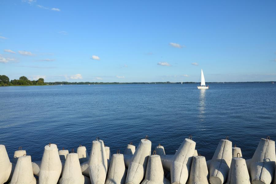 Giżycko, jezioro Niegocin